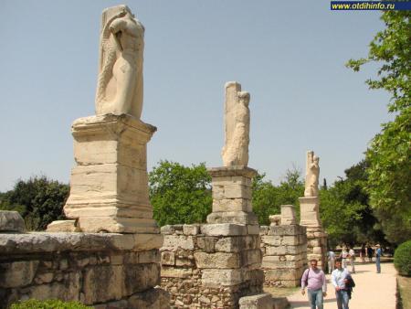 Фото: Гимнасий Агриппы, Одеон