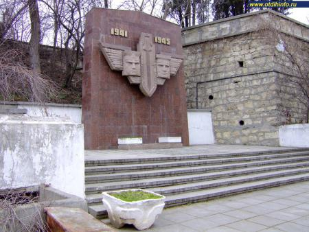 Фото: Памятник разведчикам Черноморского флота