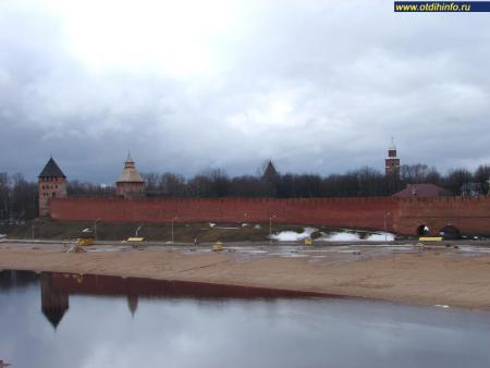 Фото: Новгородский кремль, Детинец
