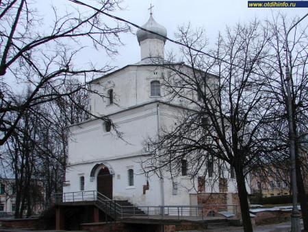 Фото: Ярославо дворище, Храм Георгия Победоносца на Торгу