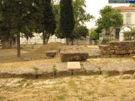 Фото: Афинский акрополь, Святилище Диониса