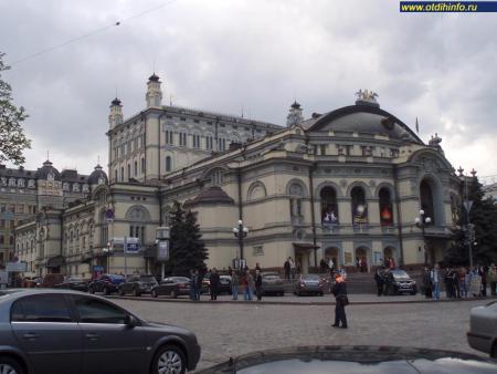 Фото: Национальная опера Украины им. Т. Г. Шевченко