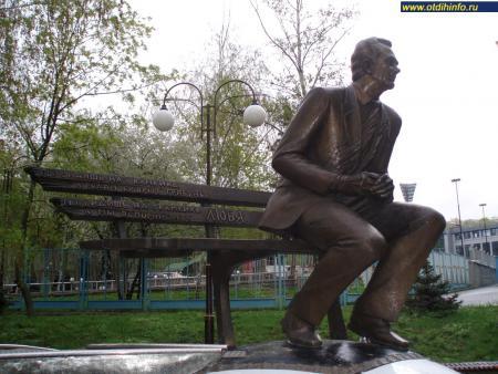 Фото: Памятник В. В. Лобановскому