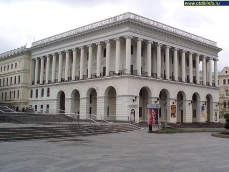 Фото: Киевская государственная консерватория им. П. И. Чайковского