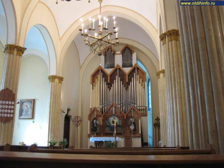Фото: Костел непорочного зачатия Пресвятой Девы Марии
