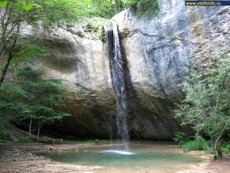 Фото: Водопад Козырек