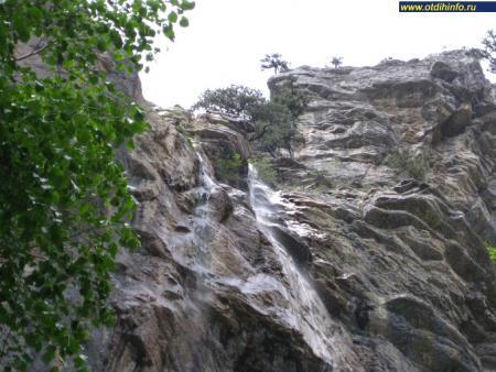 Фото: Водопад Учан-Су