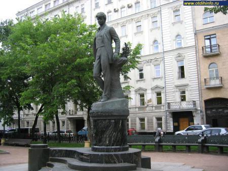 Фото: Памятник С.А. Есенину на Тверском бульваре (Москва)