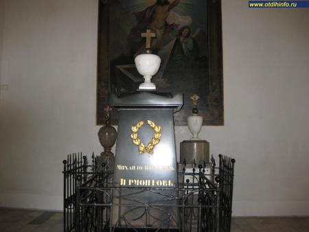 Фото: Часовня-усыпальница Лермонтовых