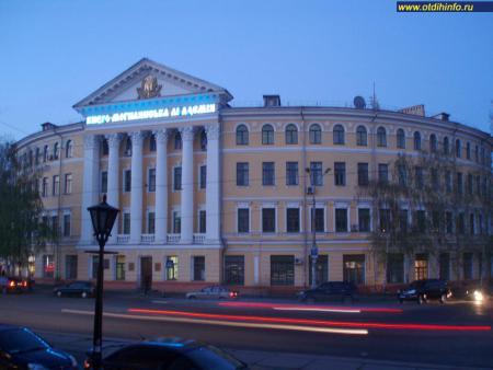 Фото: Здание Киево-Могилянской академии, Циркулярный корпус, Ковнировский корпус