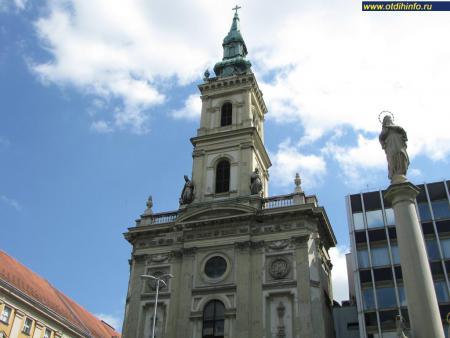 Фото: Церковь Святой Анны, церковь сервитов