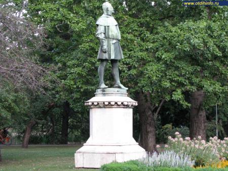 Фото: Памятник Алпару Игнацу
