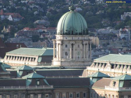 Фото: Будапештский королевский дворец