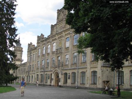 Фото: Главное здание КПИ, Первый корпус КПИ