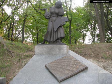 Фото: Памятник художникам — жертвам репрессий