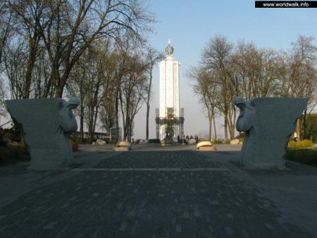 Фото: Мемориальный комплекс памяти жертв голодомора 1932–1933 г. г.