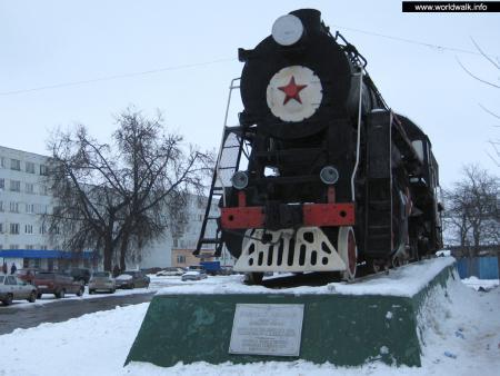 Фото: Памятник-паровоз серии Л