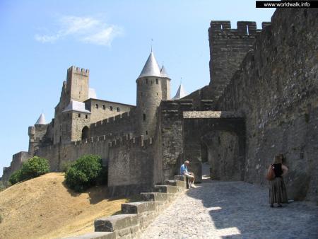Фото: Крепость Каркассона