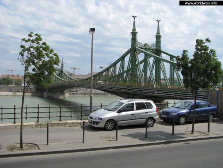 Фото: Мост Сабадшаг, мост Свободы