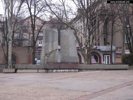 Фото: Памятник чекистам и десантникам