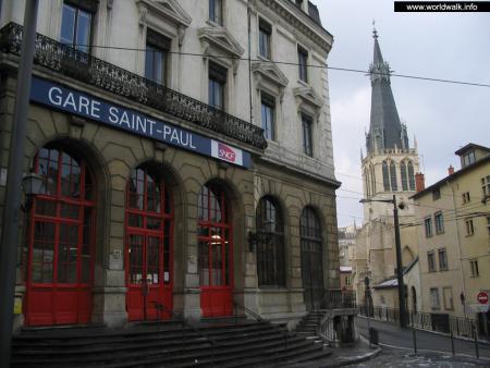 Фото: Железнодорожный вокзал Лиона, вокзал Сен-Поль, вокзал Свтого Павла