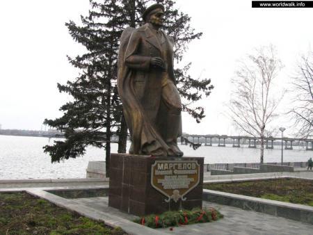 Фото: Памятник В. Ф. Маргелову