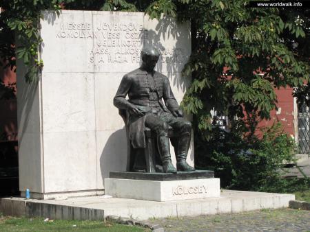 Фото: Памятник Ференцу Кёльчеи