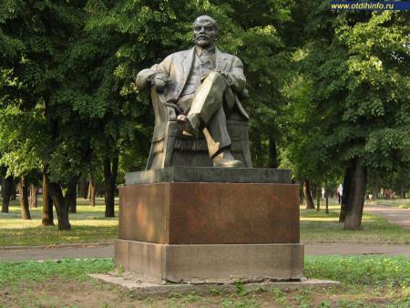 Фото: Памятник В.И. Ленину на Трехгорном валу (Москва)