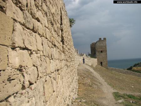 Фото: Генуэзская крепость, Феодосийская крепость, крепость Кафа