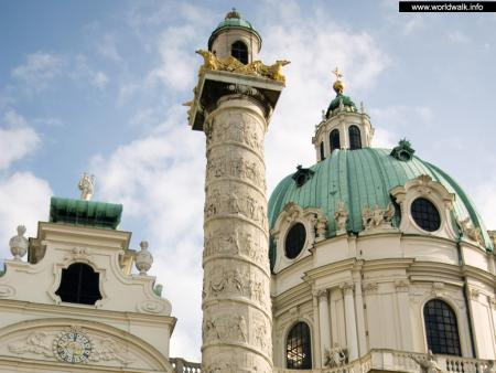 Фото: Церковь Святого Карла, Карлскирхе