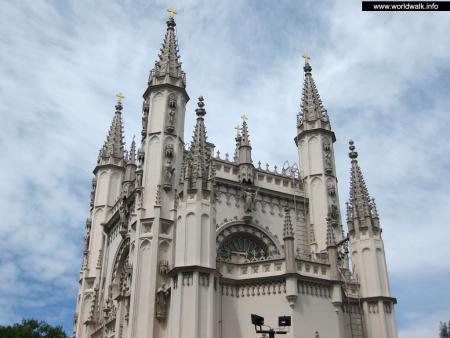Фото: Церковь Александра Невского, Готическая капелла