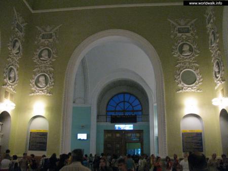 Фото: Железнодорожный вокзал Симферополя
