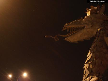 Фото: Скульптура дракона Зиланта