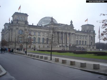 Фото: Здание рейхстага, здание бундестага
