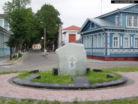 Фото: Памятный знак «Единение православной Руси»