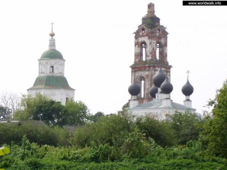 Фото: Храмовый ансамбль Николо-Погоста