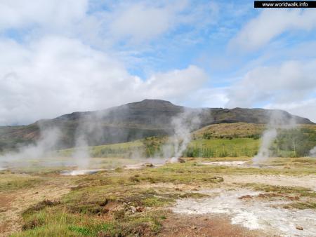 Фото: Долина гейзеров Хёйкадалур, долина гейзеров Хаукадалур
