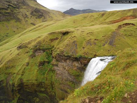Фото: Водопад Скоугафосс