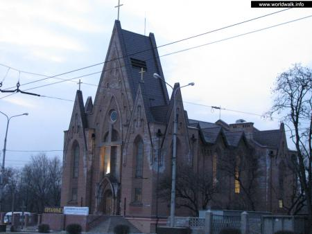 Фото: Костел Христа Царя прихода Святого Иосифа