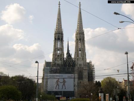 Фото: Церковь Вотивкирхе, церковь Обета