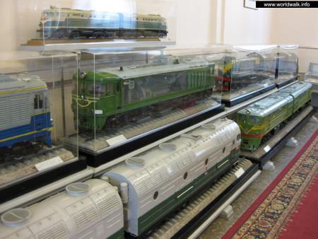 Фото: Центральный музей железнодорожного транспорта Российской Федерации