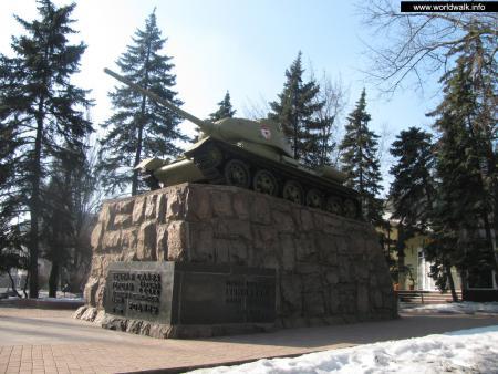 Фото: Памятник Ф. А. Гринкевичу