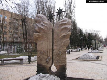 Фото: Сквер на бульваре А. С. Пушкина