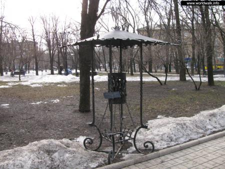 Фото: Парк кованых фигур
