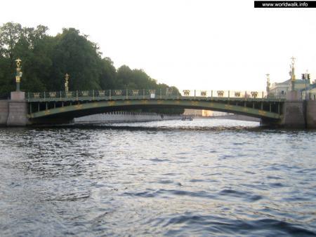 Фото: Пантелеймоновский мост, мост Пестеля