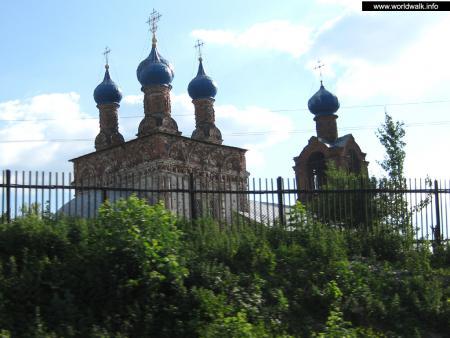 Фото: Церковь покрова пресвятой Богородицы в Храпово