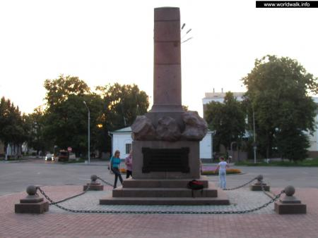 Фото: Памятник А. С. Келину
