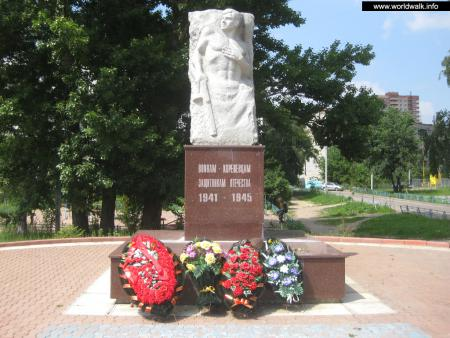 Фото: Памятник воинам-коренёвцам — защитникам Отечества