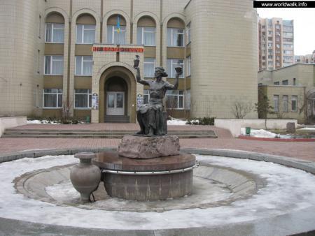 Фото: Фонтан Водолей, фонтан Истоки