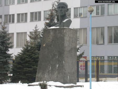 Фото: Памятник-бюст И. И. Лепсе